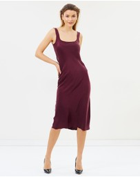 Bec & Bridge - Linda Bias Midi Dress