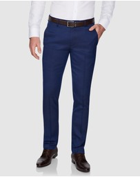 yd. - Firebird Skinny Textured Dress Pants