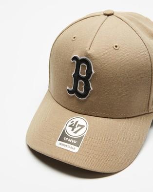 47 Boston Red Sox '47 MVP DT Snapback - Headwear (Boston Red Sox)