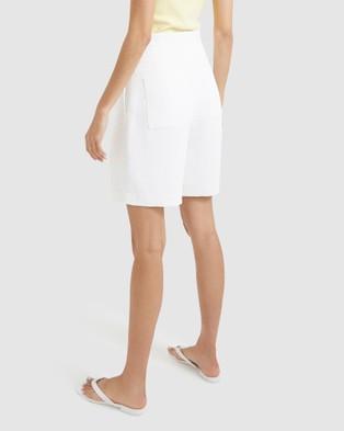 SABA Dharma Shorts Suits & Blazers white