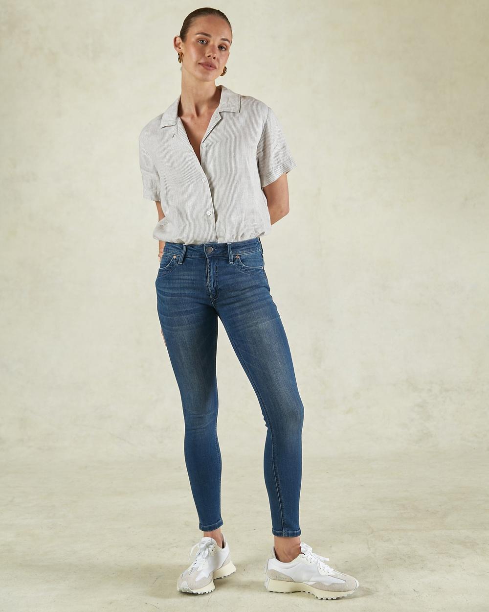 DRICOPER DENIM Lauren Classic Jeans Slim Classic Wash Australia