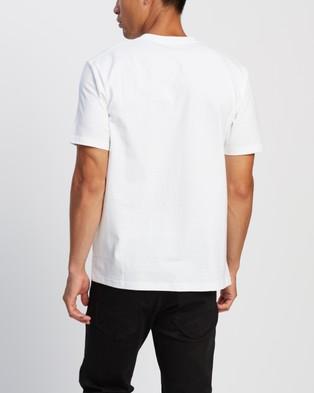 Carhartt SS University Script T Shirt - T-Shirts & Singlets (White & Black)