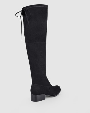 Verali Dido - Knee-High Boots (Black Micro)