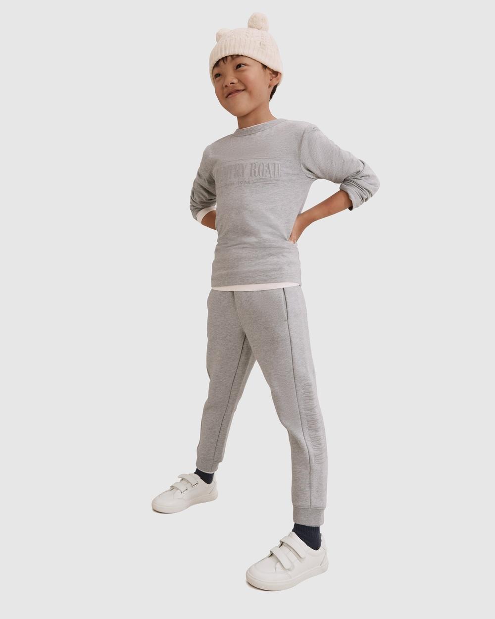 Country Road Verified Australian Cotton Long Sleeve Heritage T shirt T-Shirts & Singlets grey T-shirt Australia