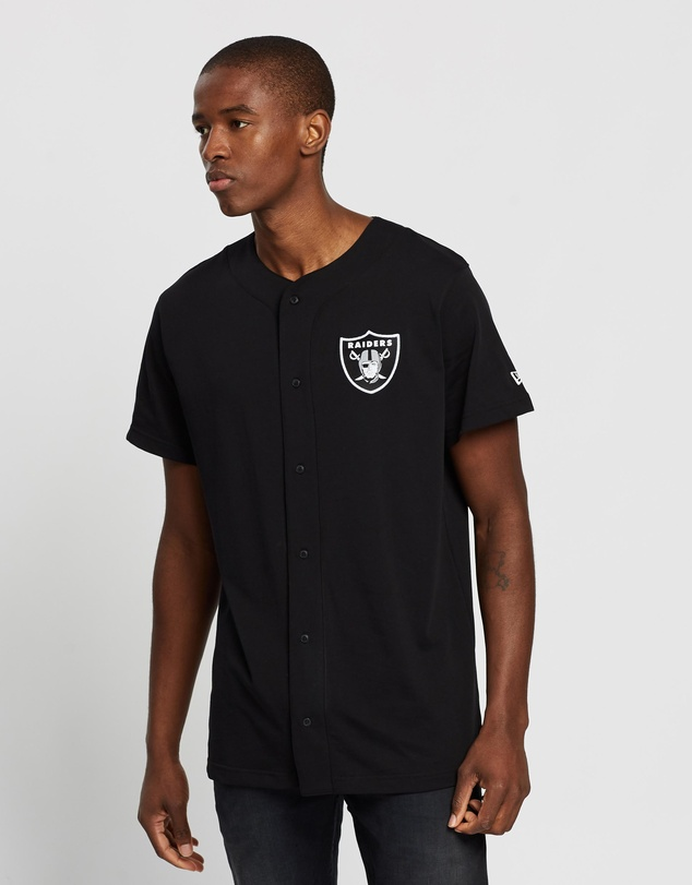 New Era - Button Up T-Shirt