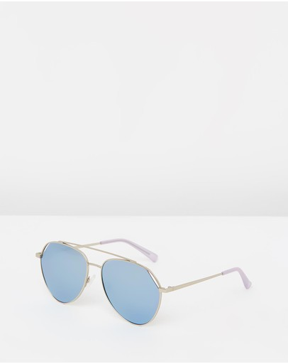 Hawkers Co Silver Blue Chrome Bluejay