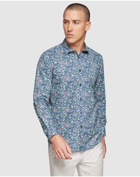 Oxford - Kenton Floral Printed Shirt