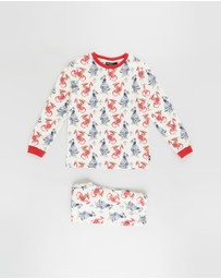 Rock Your Kid - ICONIC EXCLUSIVE - Knighty Knight LS Pyjama Set