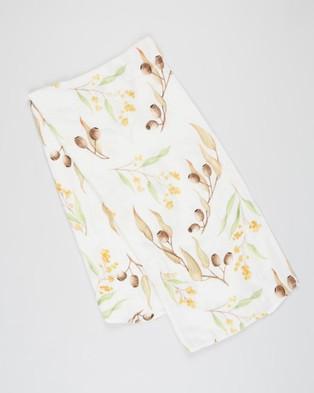 Bubba Bump Gumnut Bamboo Muslin Wrap Wraps & Blankets Print