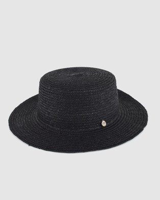 Ford Millinery Betsy Boater - Hats (Black)