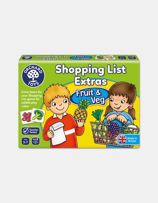 Kids Shopping List Booster Pack Fruit & Veg