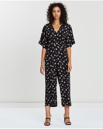 Whistles - Edelweiss Print Button Jumpsuit