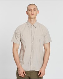 Band of Outsiders - Slim Fit Printed SS Shirt