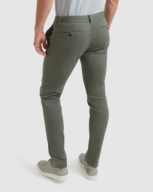 SABA Judd Dress Chinos - Pants (Pale Green)