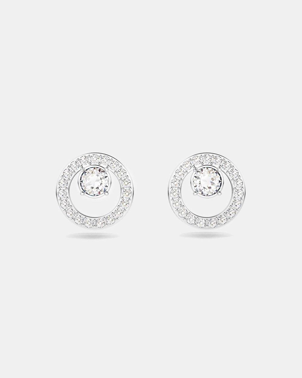 Creativity Circle Pierced Small Earrings by Swarovski Online  0b326e96c70