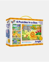 Galt - 4 Puzzles in a Box - Jungle