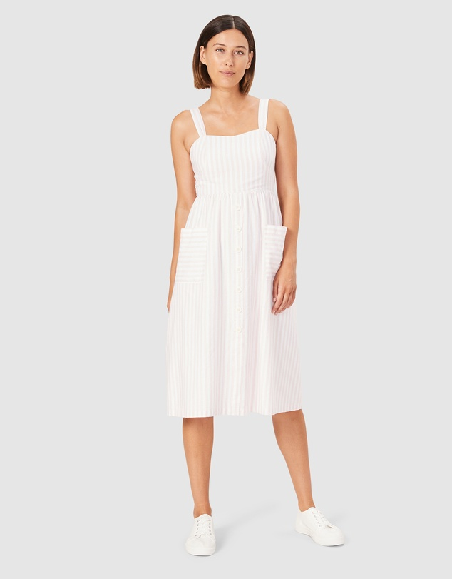 French Connection - Stripe Bustier Dress