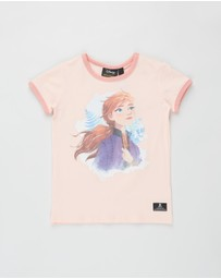 Rock Your Kid - ICONIC EXCLUSIVE - Frozen Destiny SS Ringer Tee - Kids