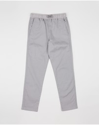 crewcuts by J Crew - Stretch Pull-On Pants with Reinforced Knees - Teens