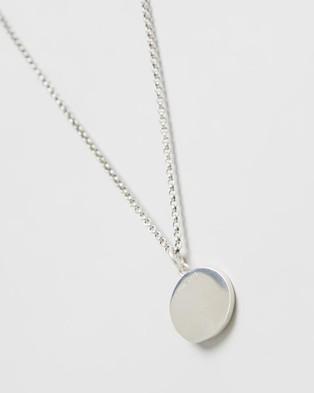 Serge DeNimes Minimal Hallmark Necklace - Jewellery (Silver)