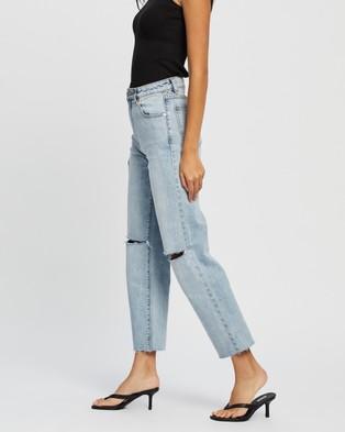 Abrand A Venice Straight Jeans Crop Sara