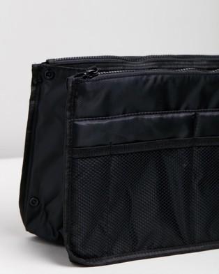 Prene Bag Organiser Insert - Toiletry Bags (Black)
