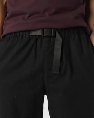 Barney Cools B.Quick Short Chino Shorts Black Ripstop