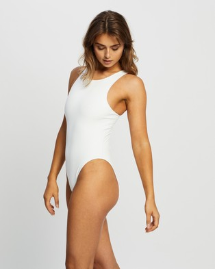 IT'S NOW COOL The Bodysuit - One-Piece / Swimsuit (White)