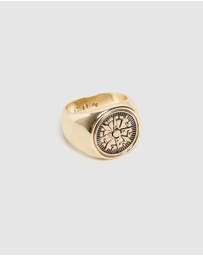 Icon Brand - Columbus Signet Ring - Large