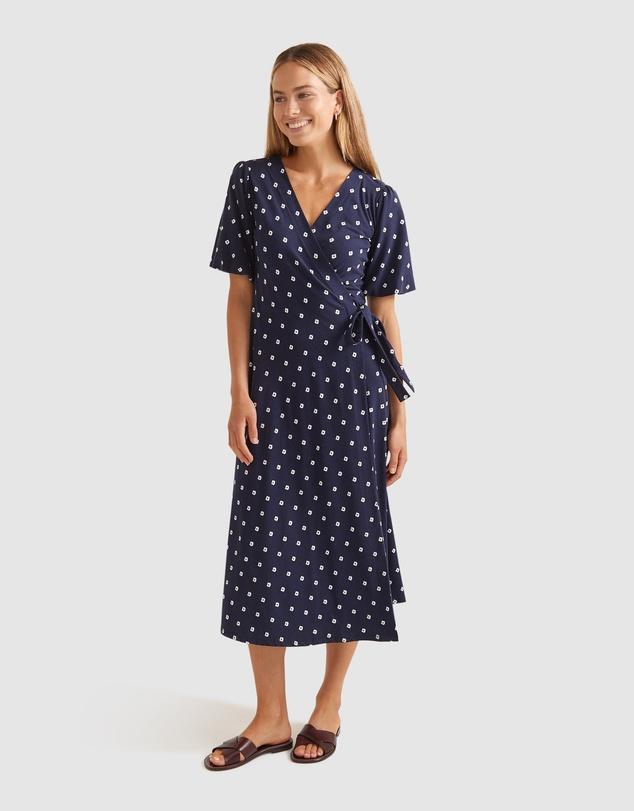 Women Elsie Cotton Modal Dress