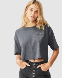 Cotton On - The One Slouch Pocket Tee