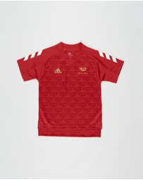 adidas Performance - Salah Football-Inspired Jersey - Kids-Teens