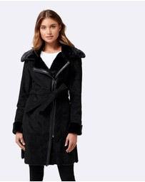 Forever New - Rylee Shearling Coat