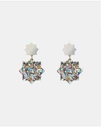 Lady Fox - Stardust Earrings Superstar Glitter