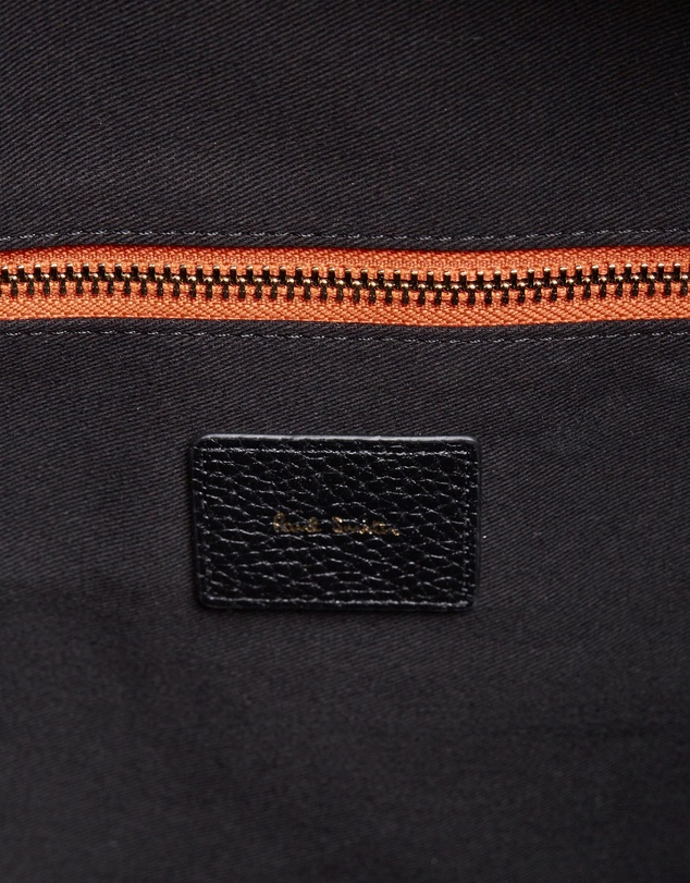 Paul Smith - Leather Signature Stripe Weekend Bag