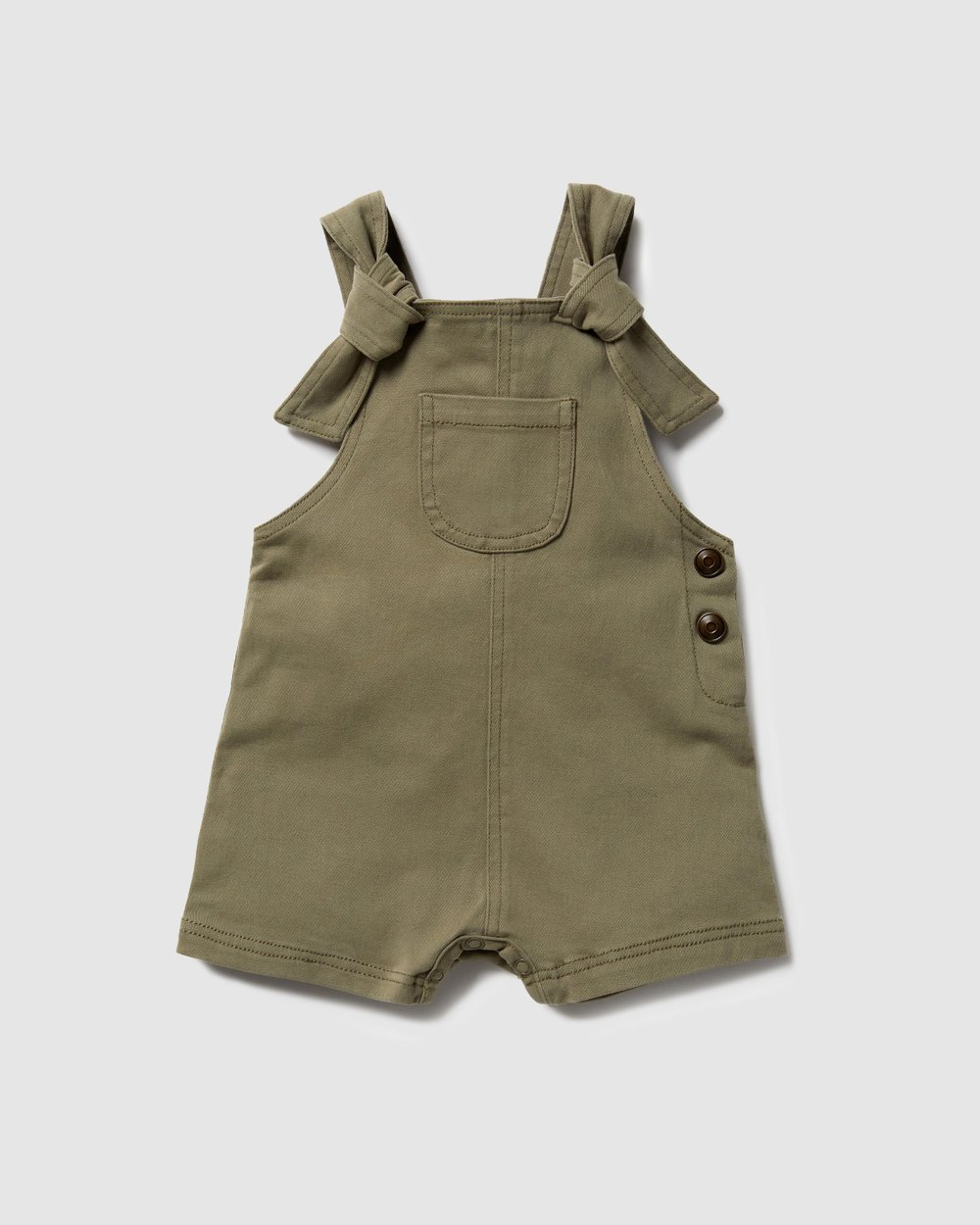 Stretch Drill Knotted Overall Babies By Wilson Frenchy Online Gov Australia