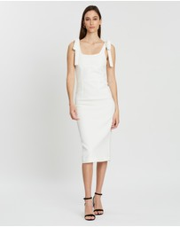 BY JOHNNY. - Panelled Bust Midi Dress