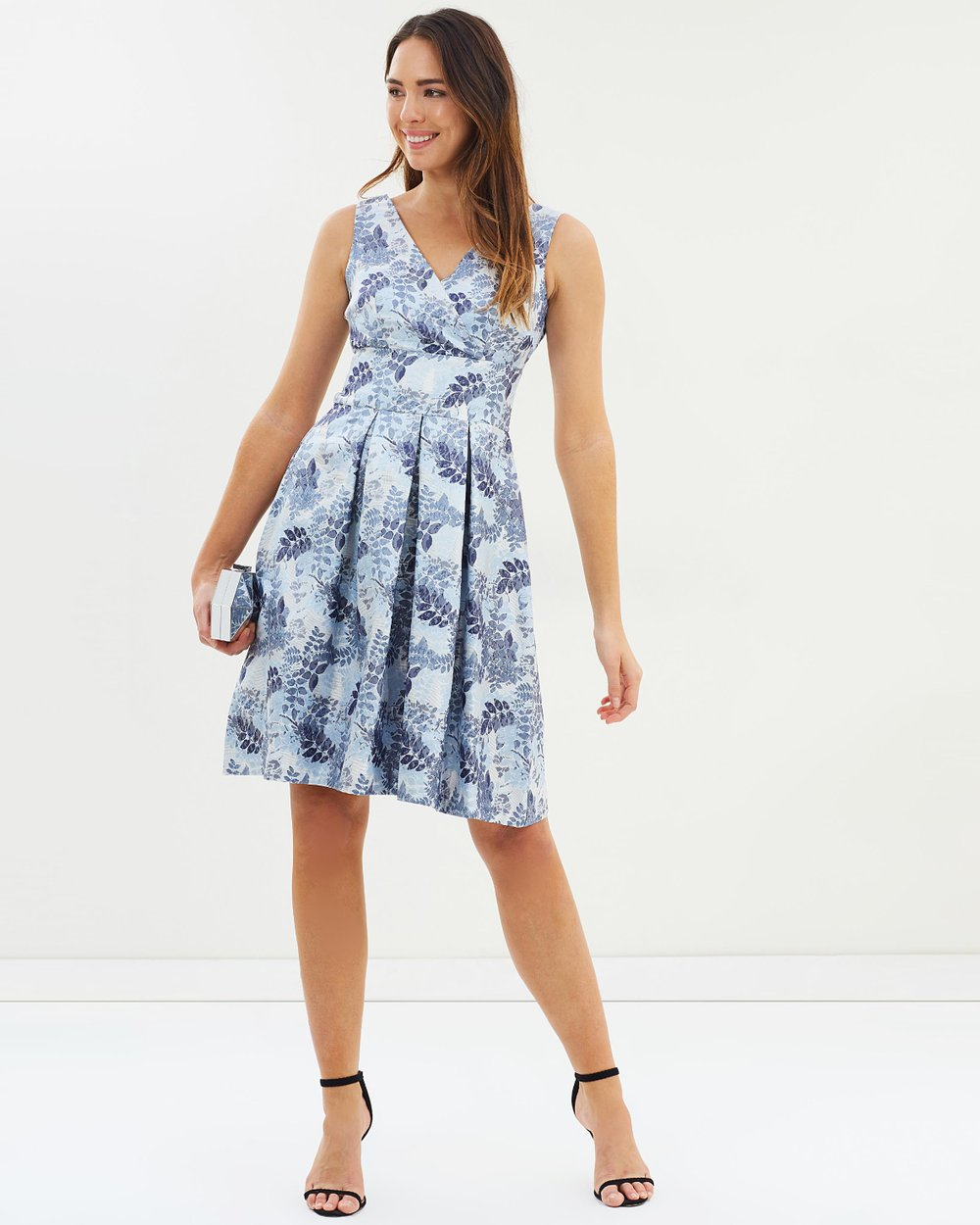 Luxe Jacquard Prom Dress by Dorothy Perkins Online   THE ICONIC ...