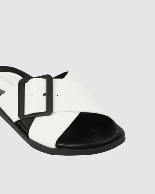 Los Cabos Roe Sandals White
