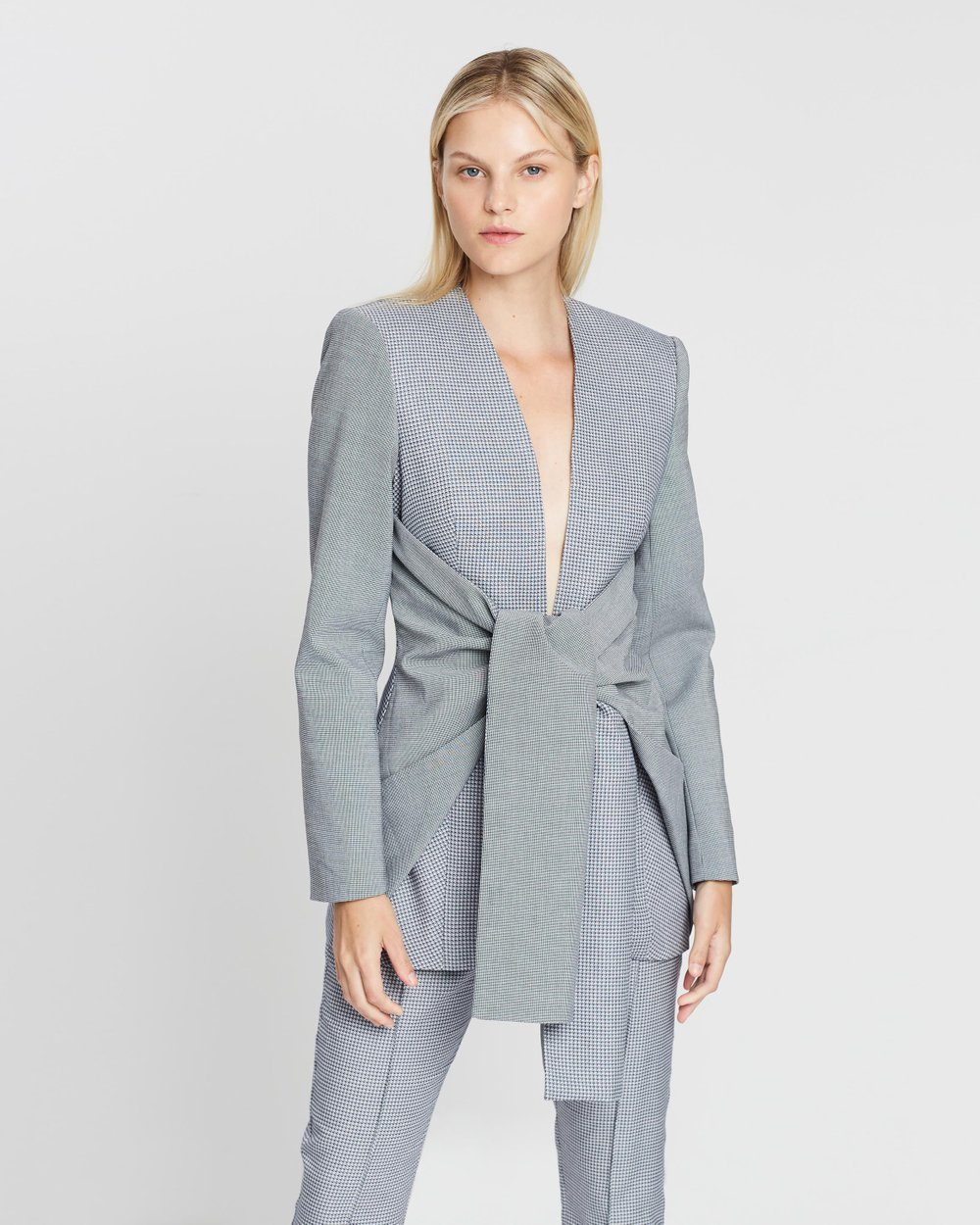 65920c7a6809 Gleston Blazer by Acler Online | THE ICONIC | Australia