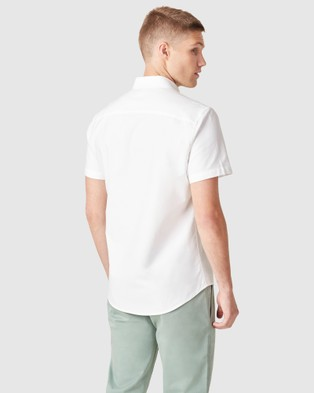 French Connection Oxford Slim Fit Shirt - Casual shirts (WHITE)