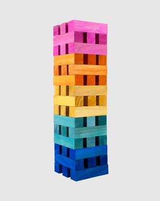 Sunnylife Mega Jumbling Tower - Accessories (Heat Wave)