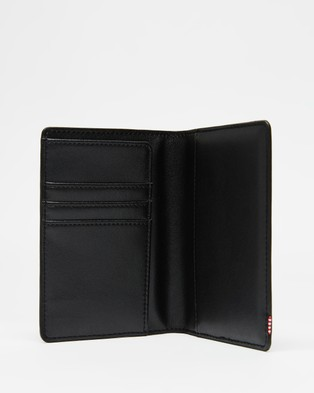 Herschel Raynor Leather RFID Passport Holder - Travel and Luggage (Black)