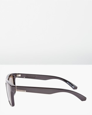 Quiksilver Mens The Ferris Sunglasses - Sunglasses (SBLK/GRY)