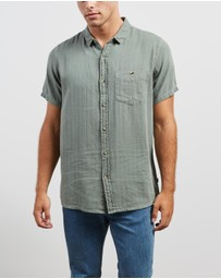 Rolla's - Men At Work Herringbone Shirt