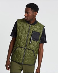 LOVE MOSCHINO - Trap Quilted Vest