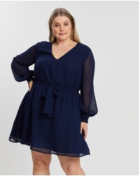 Atmos&Here Curvy - Pru Wrap Dress