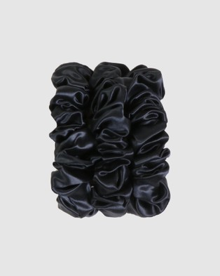 Slip Large Scrunchies - Beauty (Black)