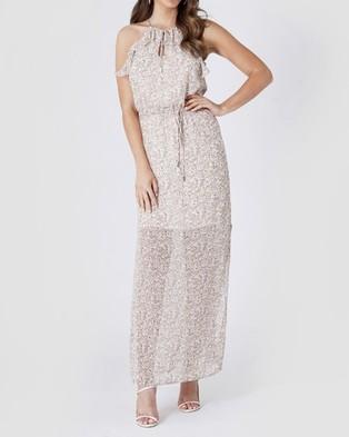 Amelius Remy Dress - Printed Dresses (White)