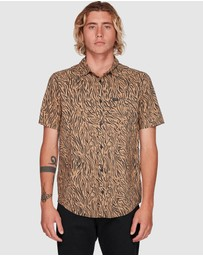 RVCA - Restless Short Sleeve Top
